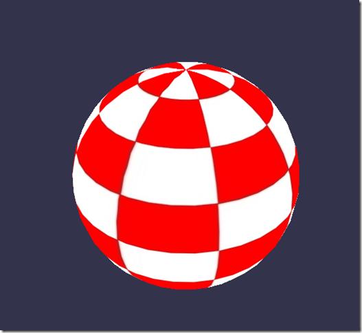 Basic shader result