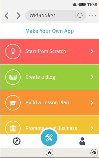 Creating Mobile Apps With The Webmaker App General Web