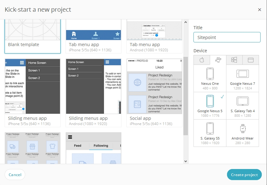 Prototyping for Android with Material Design — SitePoint