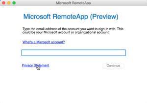 Microsoft Account Details