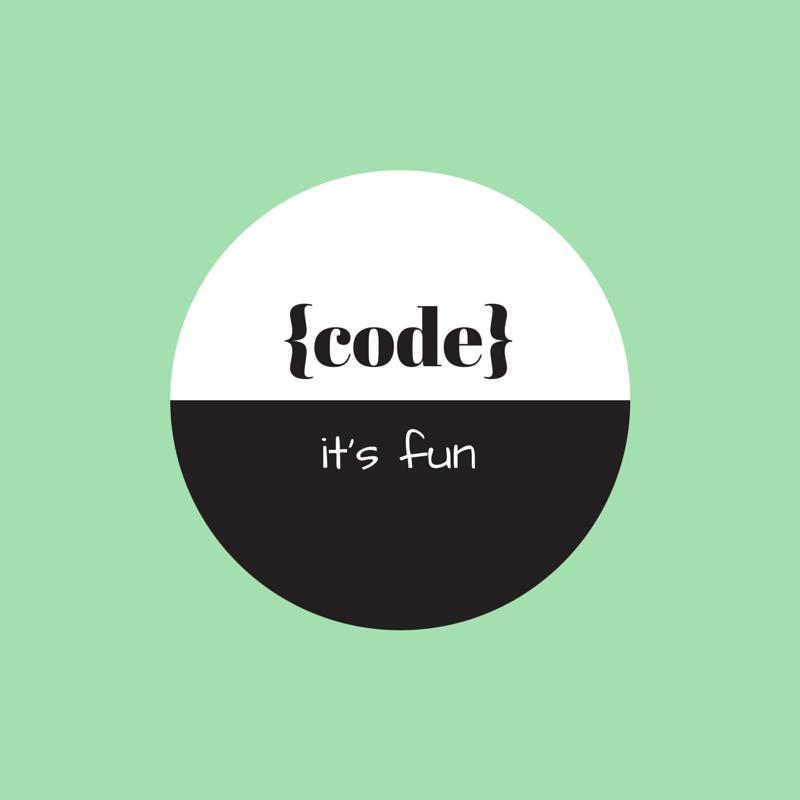 Code: It's fun