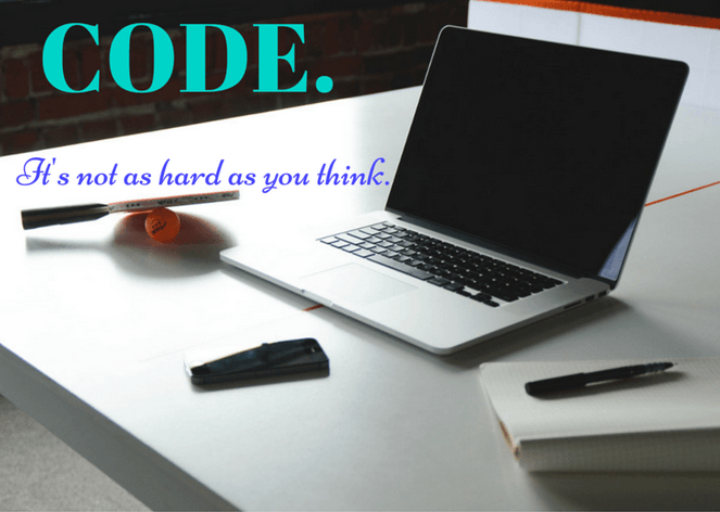 Code: It's not as hard as you think