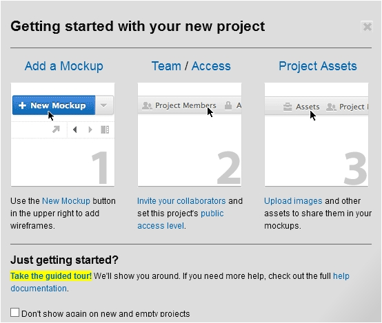 Balsamiq account creation