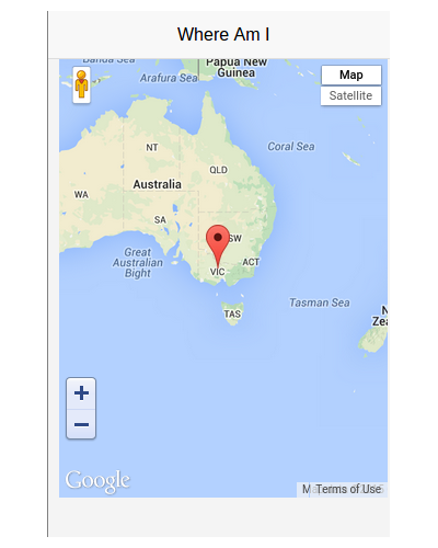 Creating A Map Website: Creating A Mobile Application With Reapp