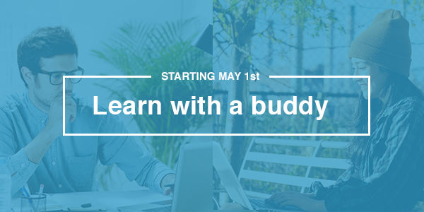 Starting May 1st, Learn with a Buddy on Learnable