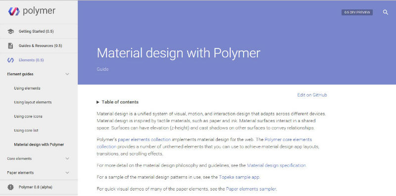 Top 5 Material Design Frameworks To Use In 2015 Sitepoint