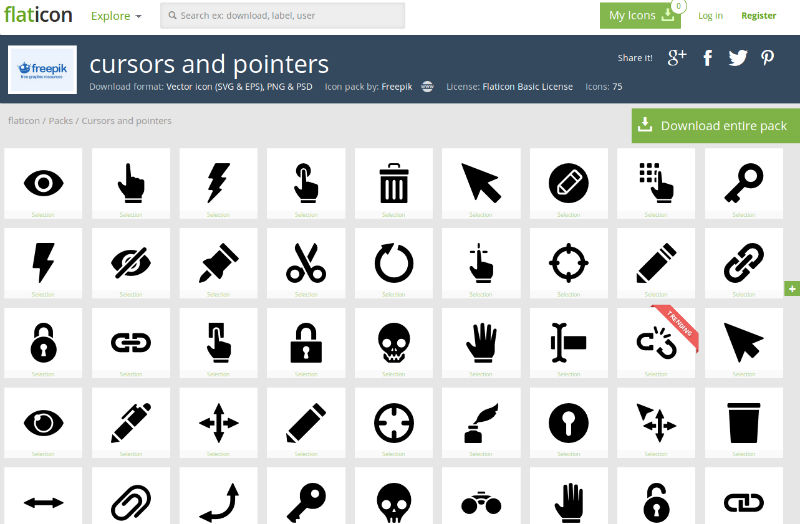 Cursors and Pointers