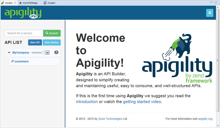 Apigility Editor