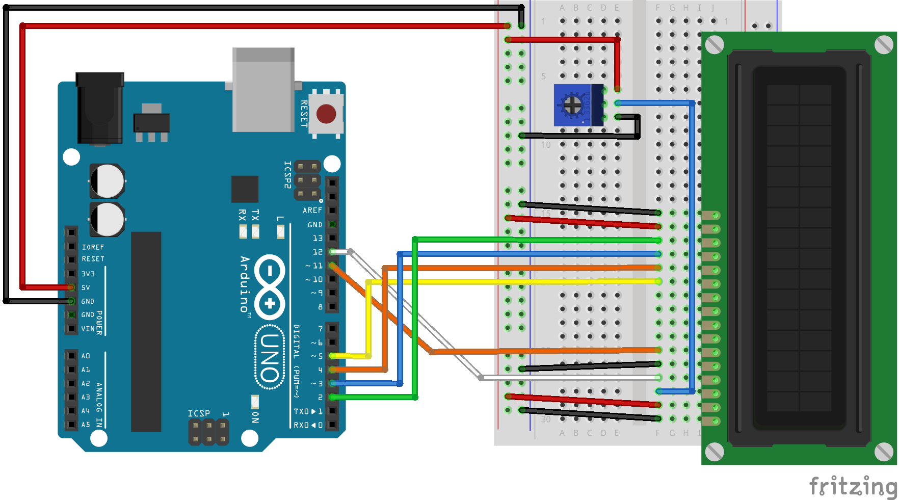 Displaying Web APIs on an Arduino LCD using Node js