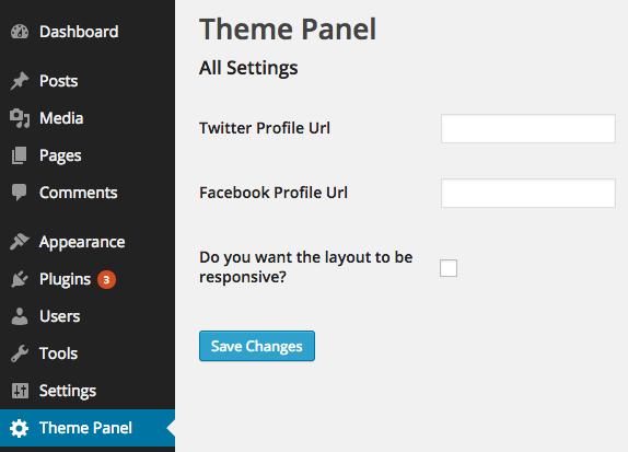 Settings API Checkbox Example