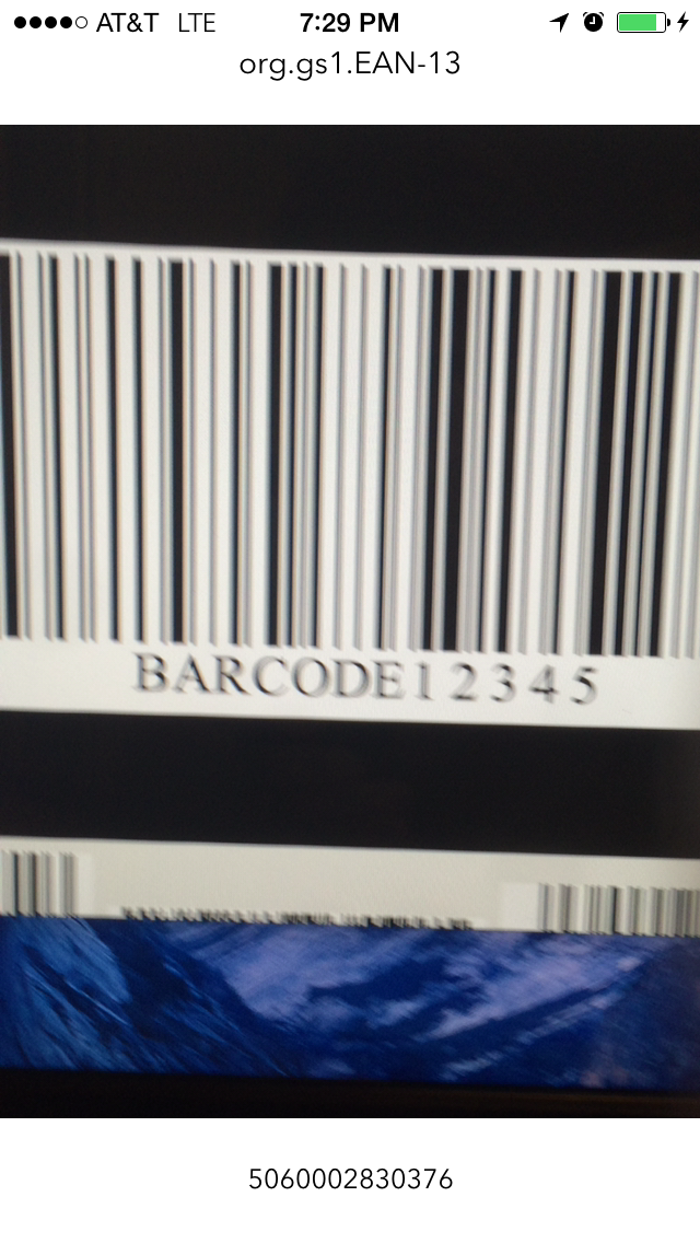 Creating a Barcode and Metadata Reader in iOS — SitePoint