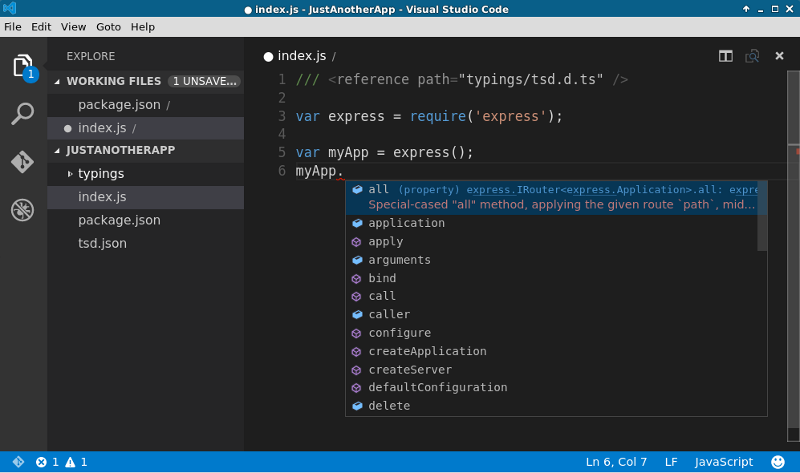 Getting Started With Microsoft Visual Studio Code on Linux — SitePoint
