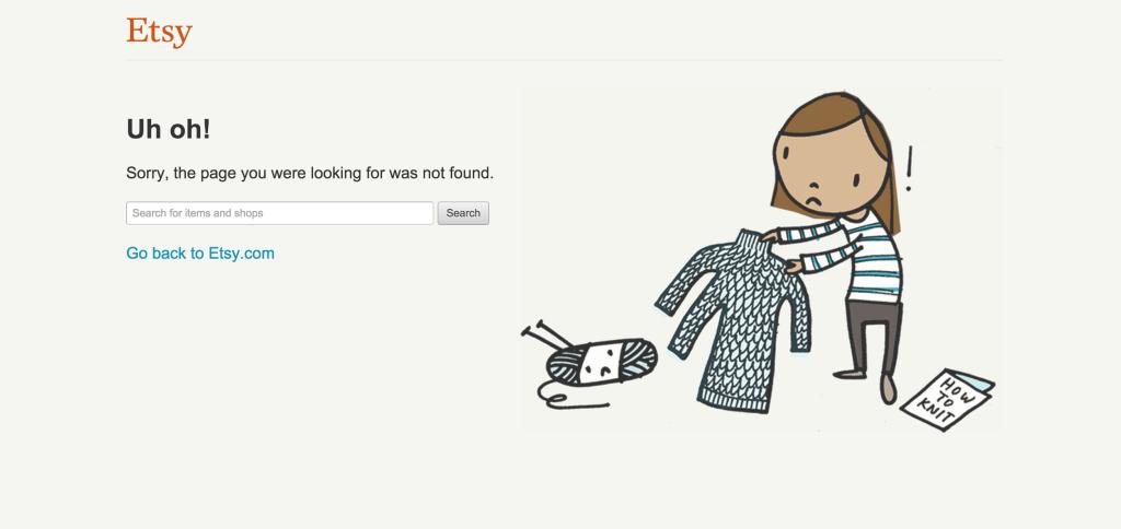 Etsy 404