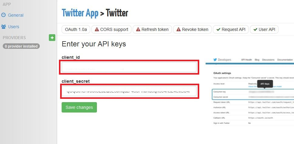 oauth.io api keys