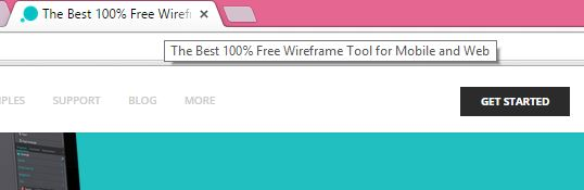 The best 100% Free Wireframe tool  for Mobile and web