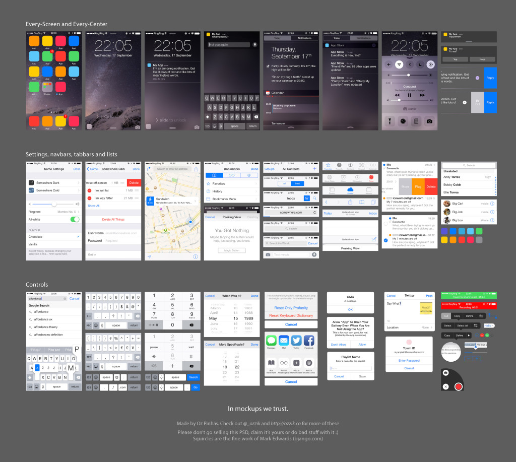 10 Free UI Templates for Android Lollipop and iOS 8 — SitePoint