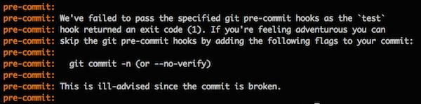 Sass-testing-precommit-errors