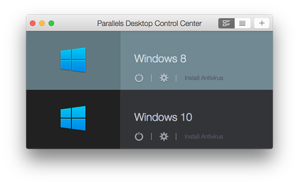 Running Windows on a Mac with Parallels