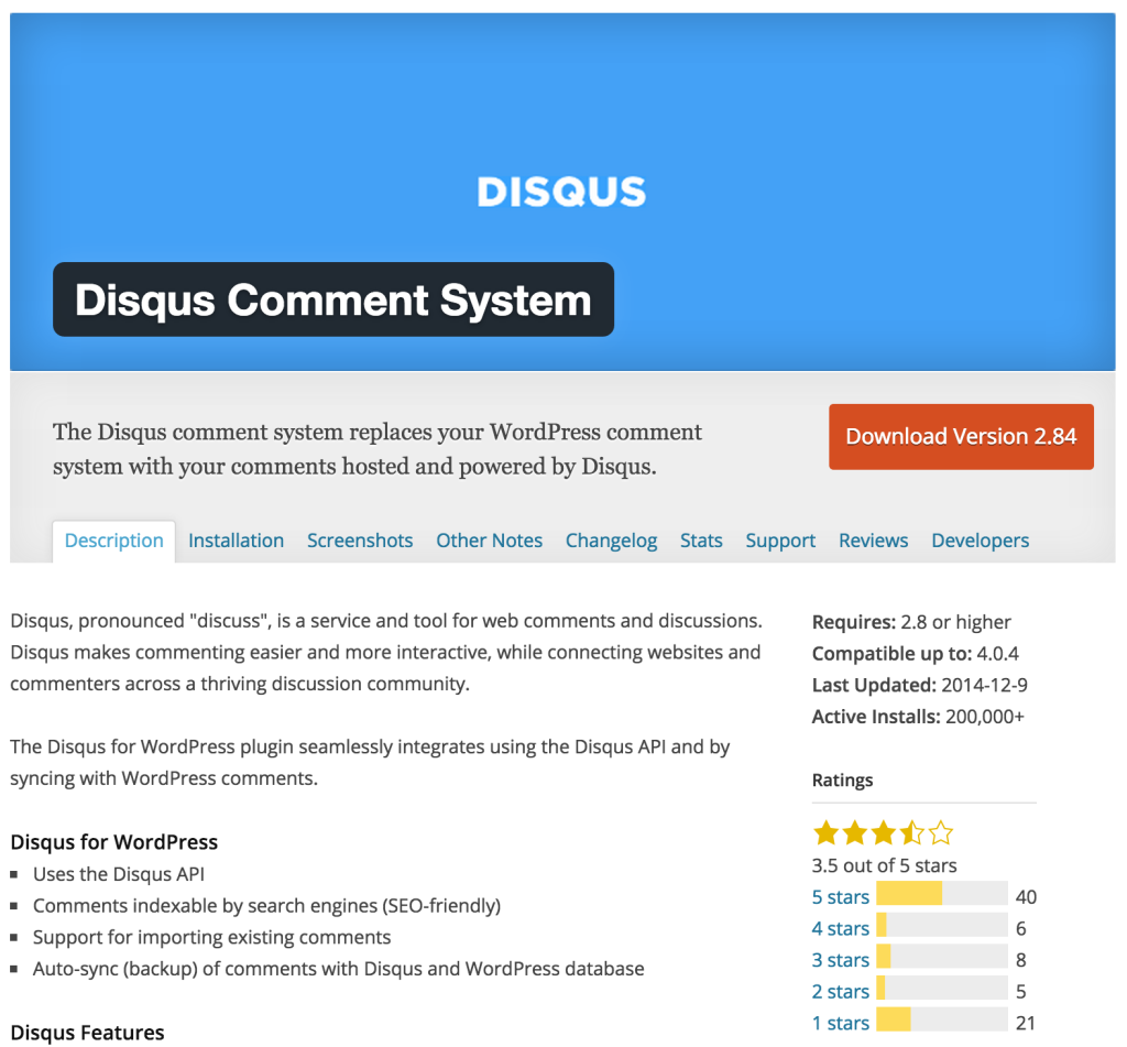 A Comprehensive Comparison of WordPress Commenting Plugins