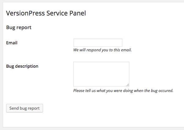 Troubleshooting VersionPress