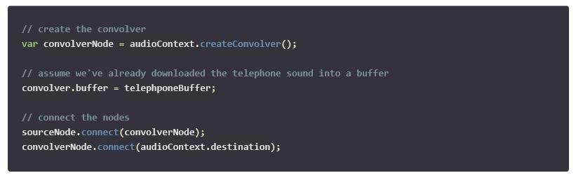Create a Convoler node