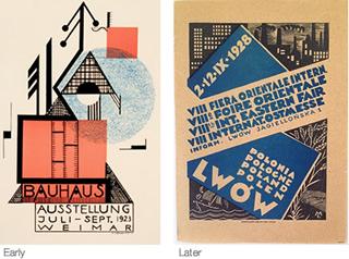 Bauhaus design: 1923 - 1928