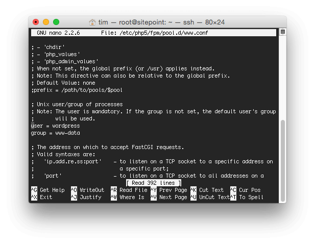Configure SSH Login