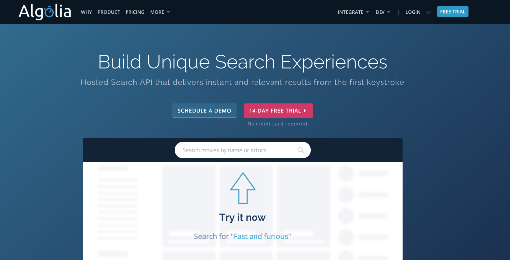 Algolia Search