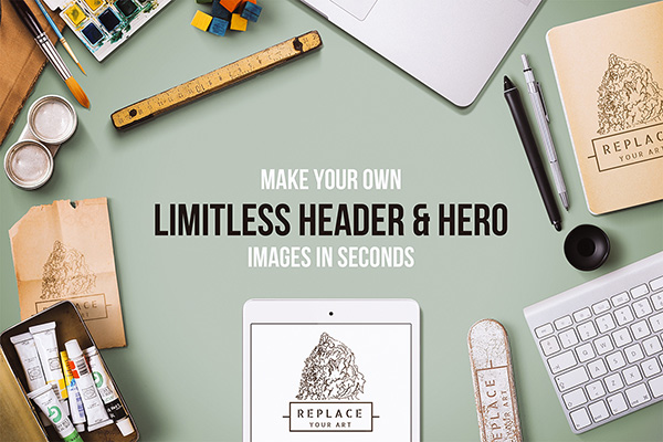 Website: Limitless Header and Hero