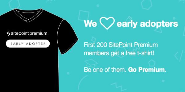Sitepoint premium free