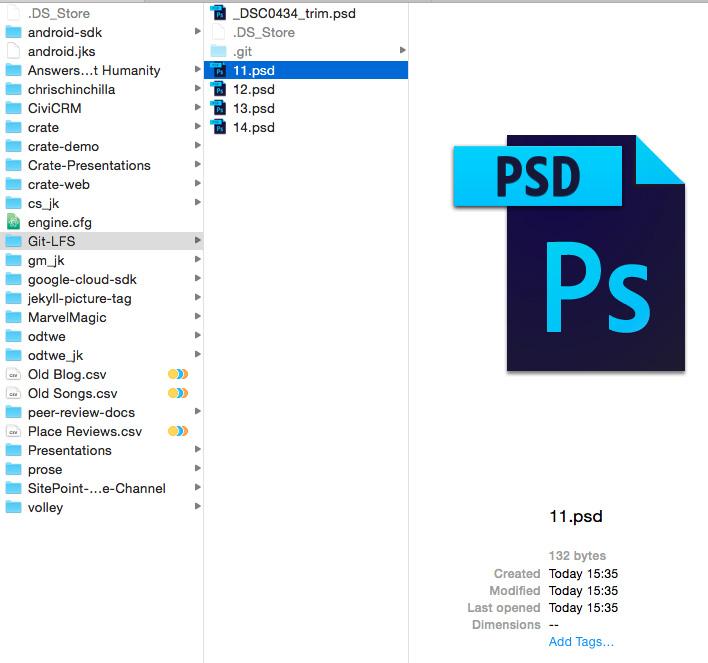 PSD file size