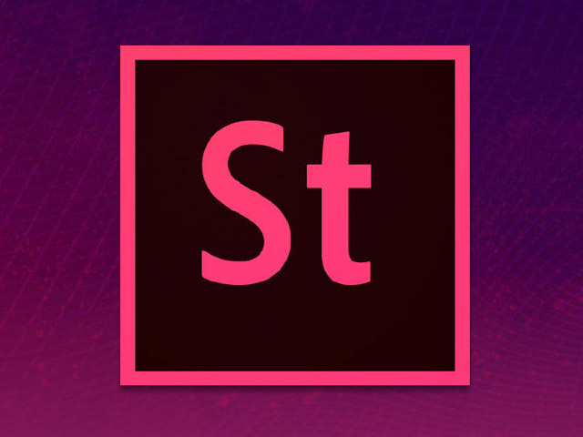 The Adobe Stock logo