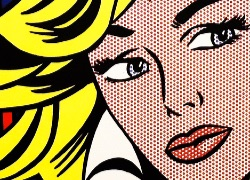 Lichtenstein: Woman on a phone