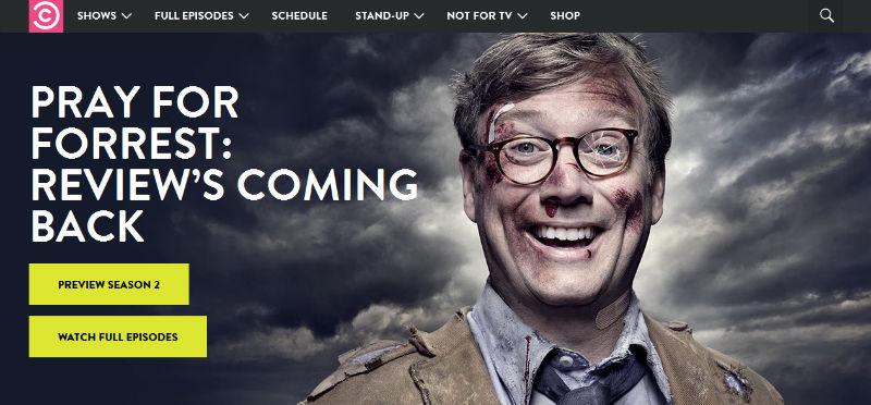 Website: ComedyCentral