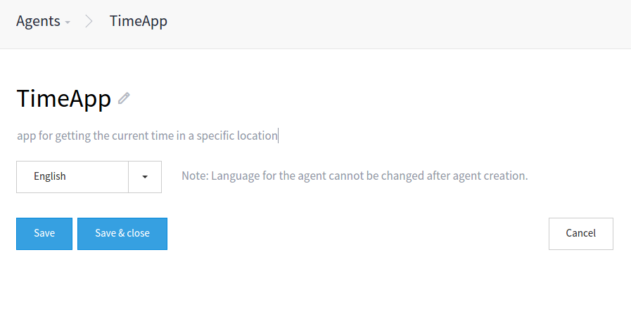 timeapp agent