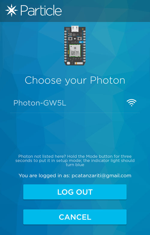 Choosing Your Photon