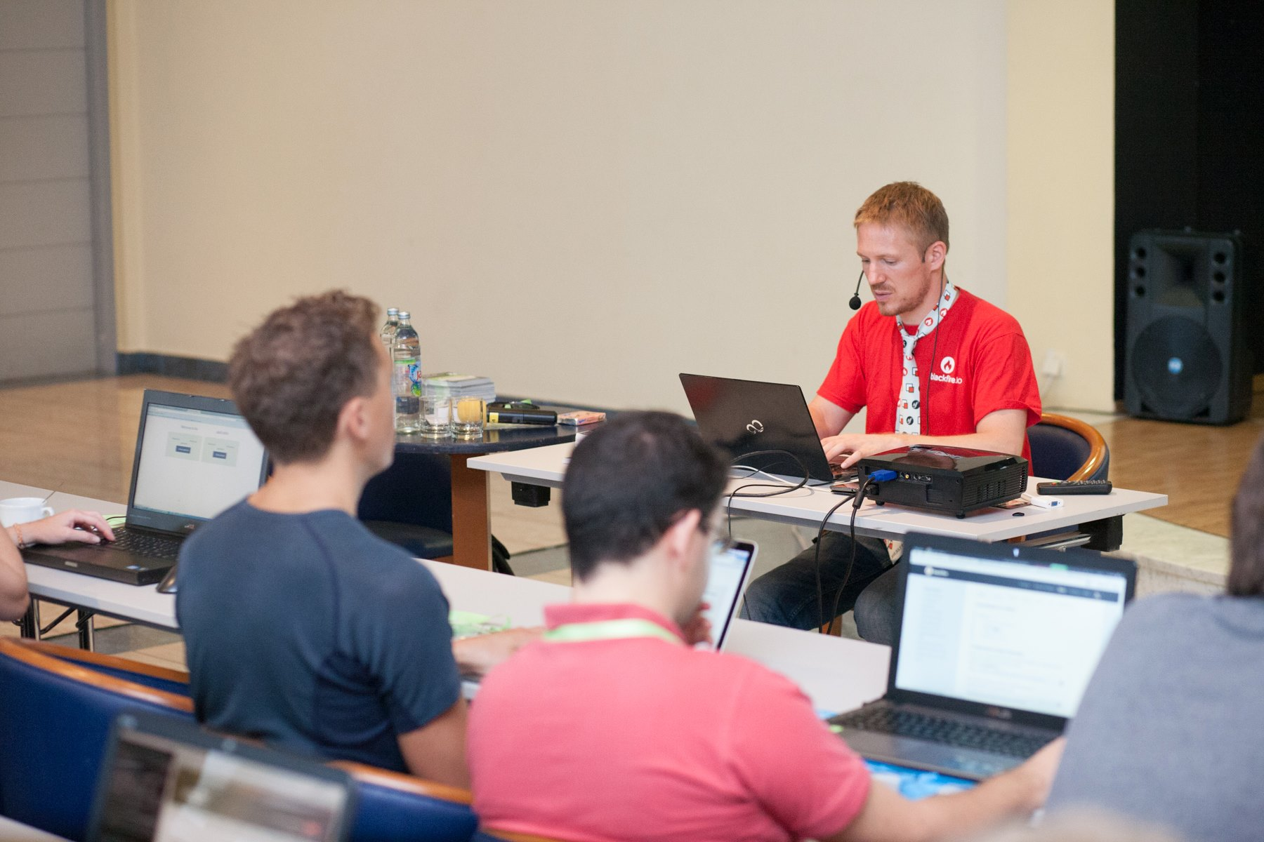 People in Profiling PHP Apps workshop
