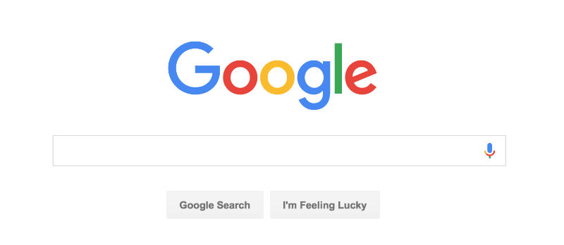Google logo screen cap