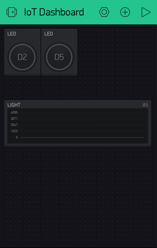 Blynk Graph Widget Added