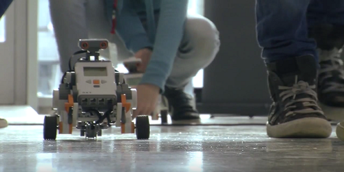 Java-powered robots, perfect for kids