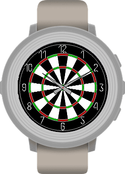 Pebble Dartboard Watchface