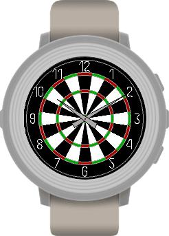 Pebble Dartboard Watchface