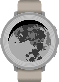 Moon Pebble Watch App