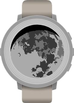 Moon Pebble Watch App