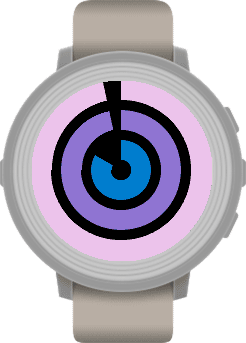 Concentricity Pebble Watch App