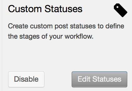 custom statuses