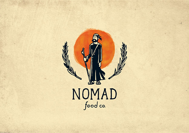Nomad Food Co. logo by sanjar