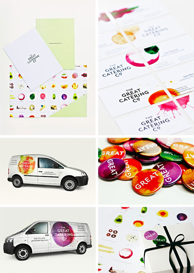 The Great Catering Co. by Strategy Design & Advertising