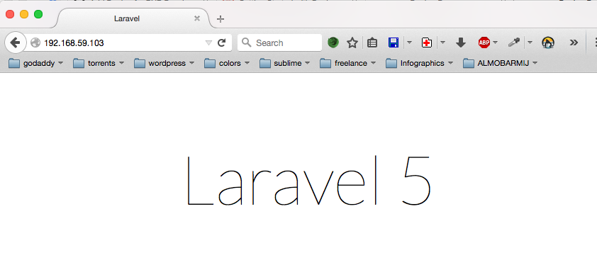 Laravel Demo screenshot