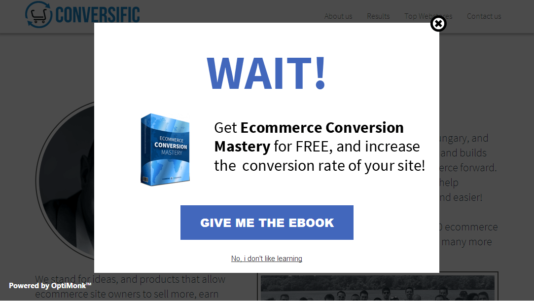 how to create an exit intent pop up for clickfunnels